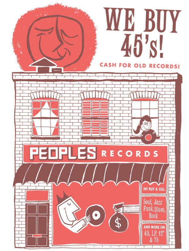 Peoples Records - We Buy Records!